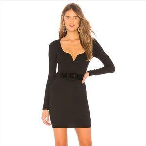 Black mini dress from REVOLVE